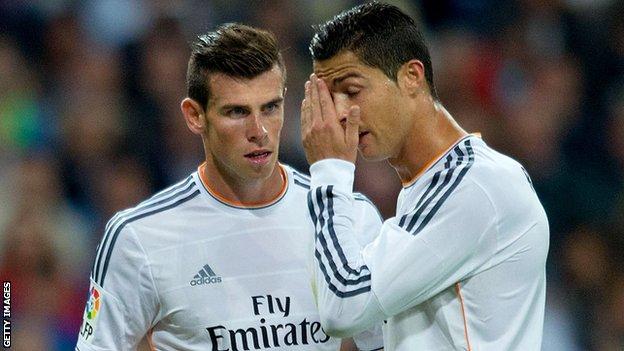Gareth Bale; Cristiano Ronaldo