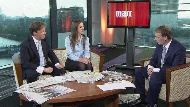 Philip Collins, Isabel Hardman and Andrew Marr