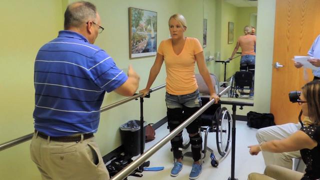 Bbc Sport Mallory Weggemann On Paralysis Paralympics