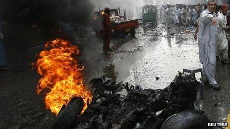 Peshawar blast, 29 Sept