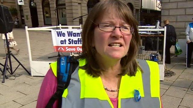 Campaigner Karen Howell