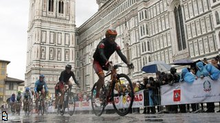World road race in Florence