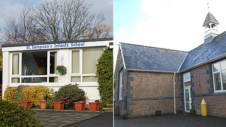 St Sampson's Infant and St Andrew's Primary Schools