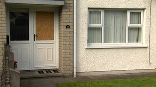 Dungannon house attacked