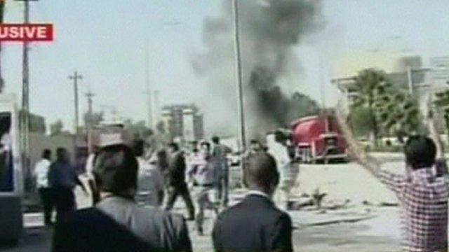 Explosion in Irbil