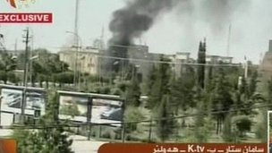 Explosions in Irbil, 29 Sept