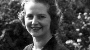 Margaret Thatcher pictured in 1959