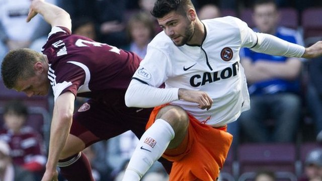 Hearts v Dundee United