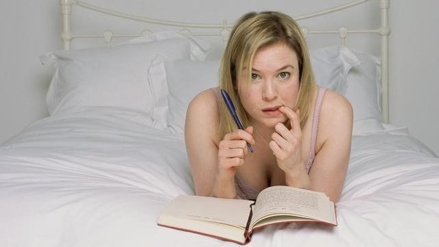 Renee Zellweger in Bridget Jones: The Edge of reason""