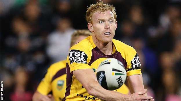 Brisbane Broncos scrum-half Peter Wallace