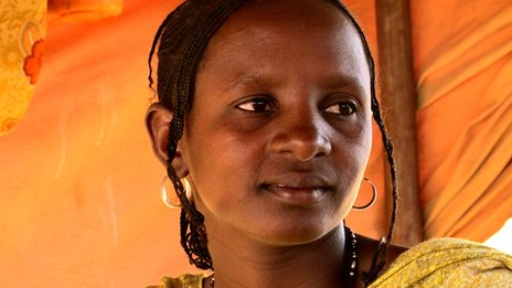 Malian refugee, Zouda Walett Infa