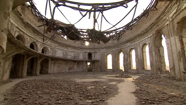 Ruined Darul Aman palace