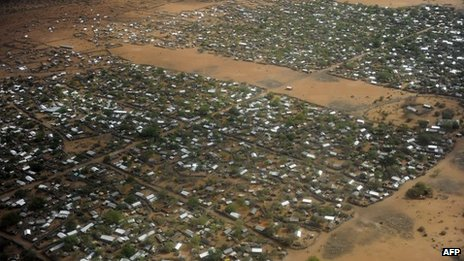 A general view of the Dadaab camp (file picture)