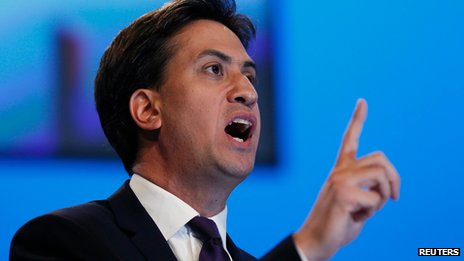 Ed Miliband addresses Labour Party conference on 24 September 2013