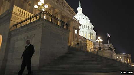 The US Capitol. 30 Sept 2013