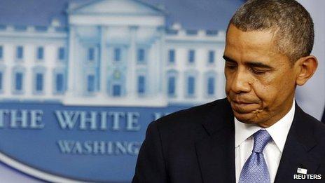 President Barack Obama. 30 Sept 2013