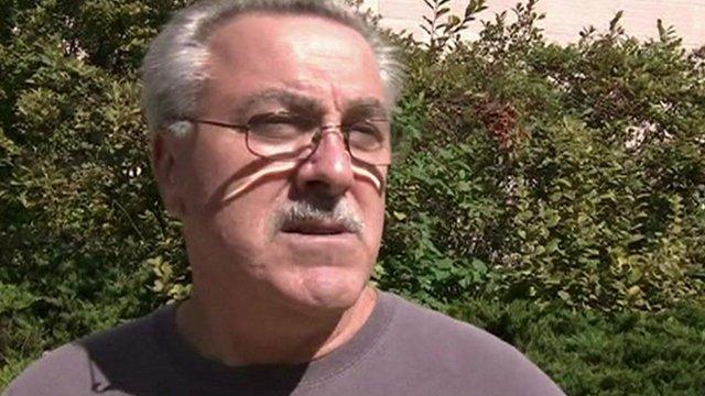 Man interviewed about US shutdown