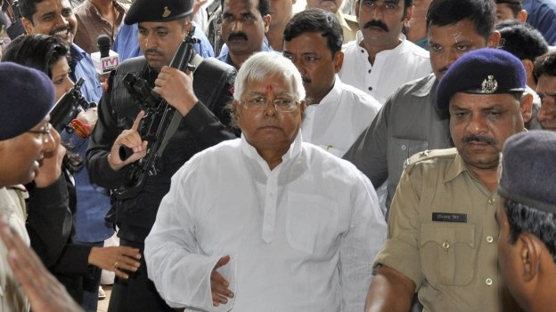 Laloo Prasad Yadav supports the Congress-led federal government