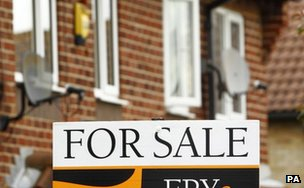 For sale sign in the UK