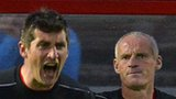Derry City manager Declan Devine and assistant boss Paul Hegarty