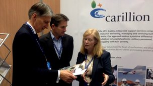 Carillion stand at Tory conference