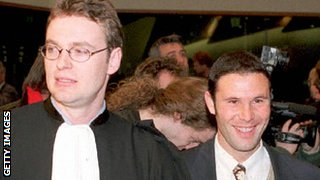 Jean-Louis Dupont and Jean-Marc Bosman