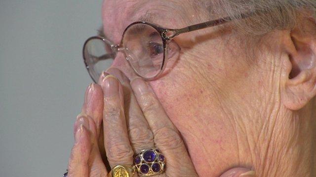 89 year old Kathleen Shortman