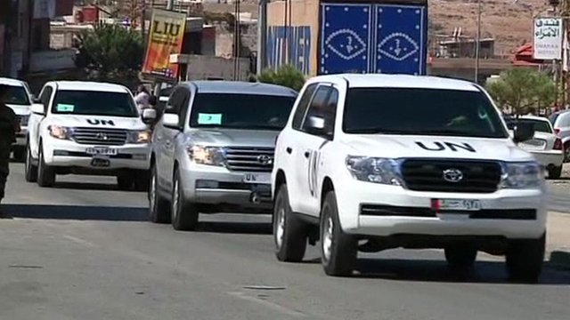 UN cars