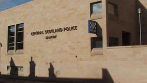Police station Falkirk