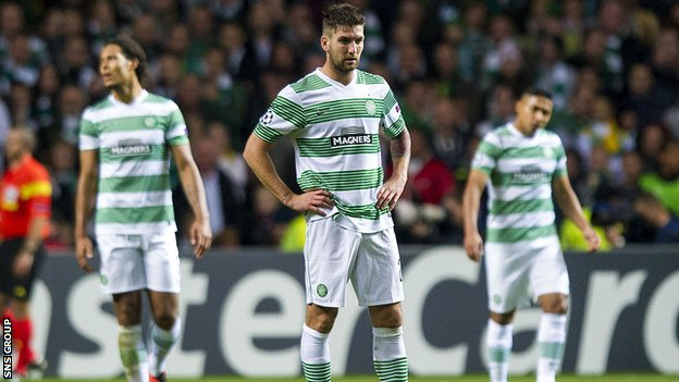 Celtic lost 1-0 at home to Barcelona