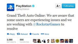 link to PlayStation tweet