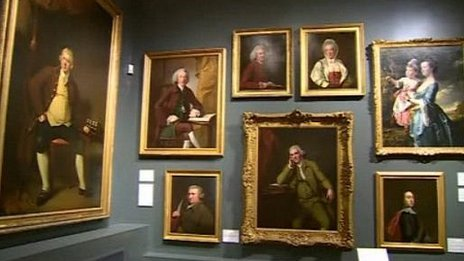 Joseph Wright paintings