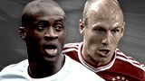 Yaya Toure & Arjen Robben