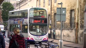 First Bus in Bristol