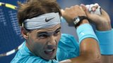Rafael Nadal in action at the China Open