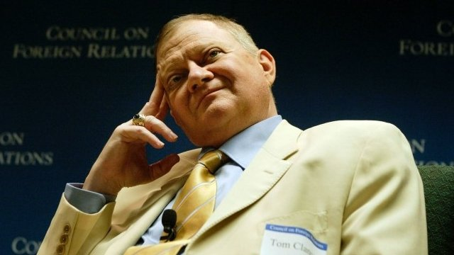 Author Tom Clancy