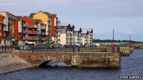 Barry Docks waterfront development