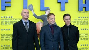 Irvine Welsh, Jon Baird and James McAvoy