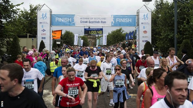 2012 Great Scottish Run