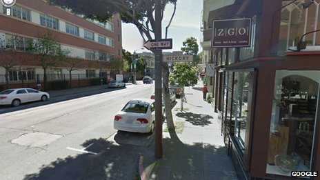 Google Streetview image of Hickory Street, San Francisco