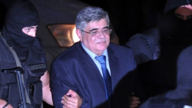 Extreme-right Golden Dawn party leader Nikos Mihaloliakos
