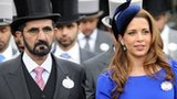 Sheikh Mohammed and Princess Haya at Ascot Racecourse