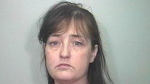 Amanda Hutton in custody