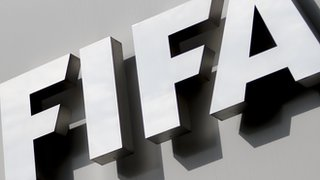 Fifa sign at its Zurich headquarters