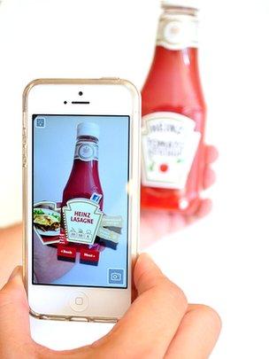Heinz's AR app