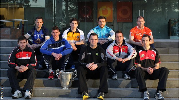 Ulster teams at GAA launch
