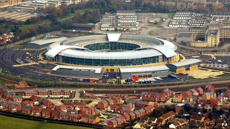 GCHQ in Cheltenham (file photo)