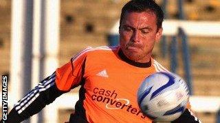 Hull goalkeeper Steve Harper