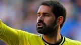 Wigan goalkeeper Scott Carson