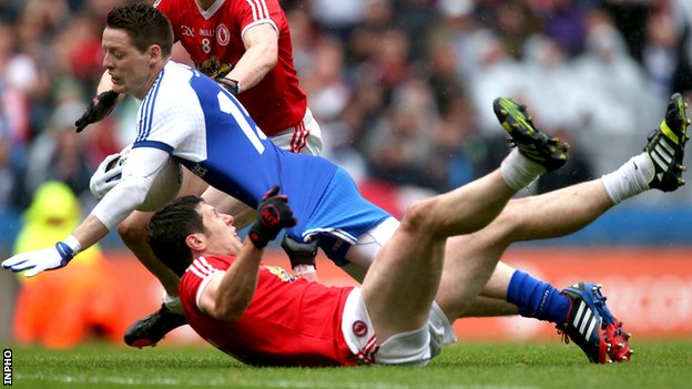 Monaghan's Conor McManus and Tyrone's Sean Cavanagh are among the All-Star nominees